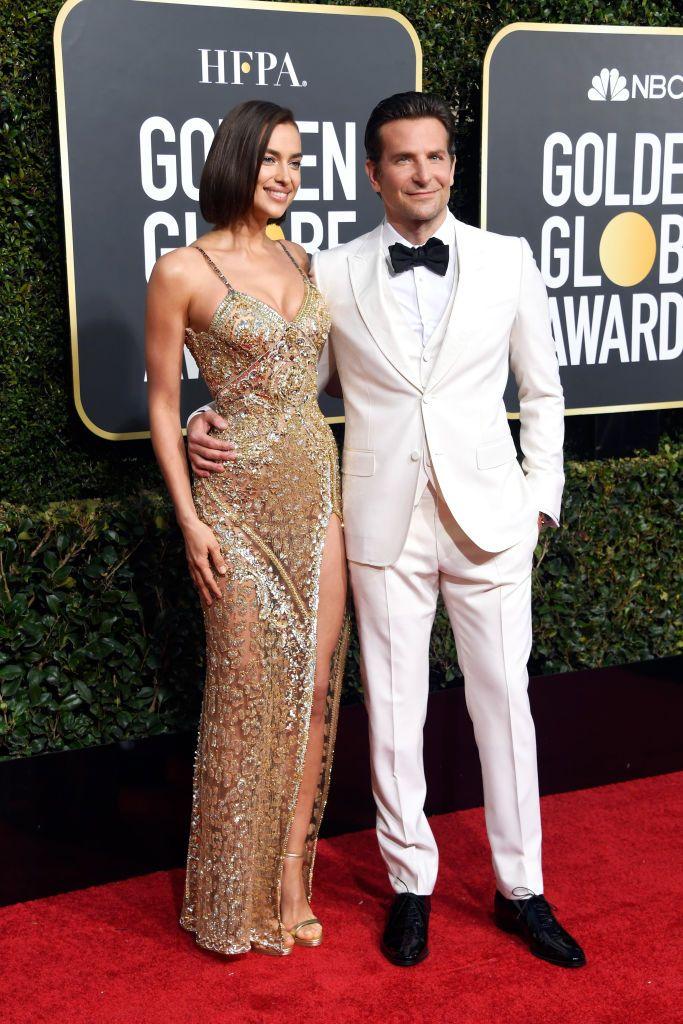 e8538d447cb Irina Shayk and Bradley Cooper attend the 76th Annual Golden Globe ...