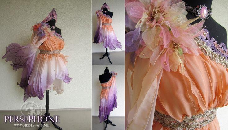 Persephone 3 » Firefly Path - Beautiful Persephone Costume - Fairly involved project