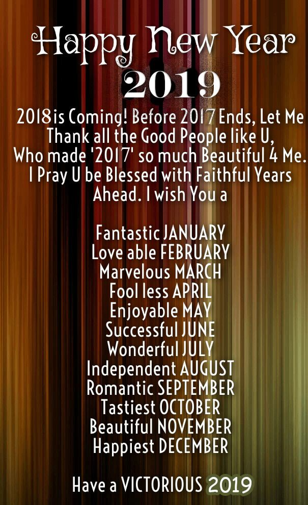 Happy New Year 2019 Quotes Greeting Wishes Images 1 Likey Likey