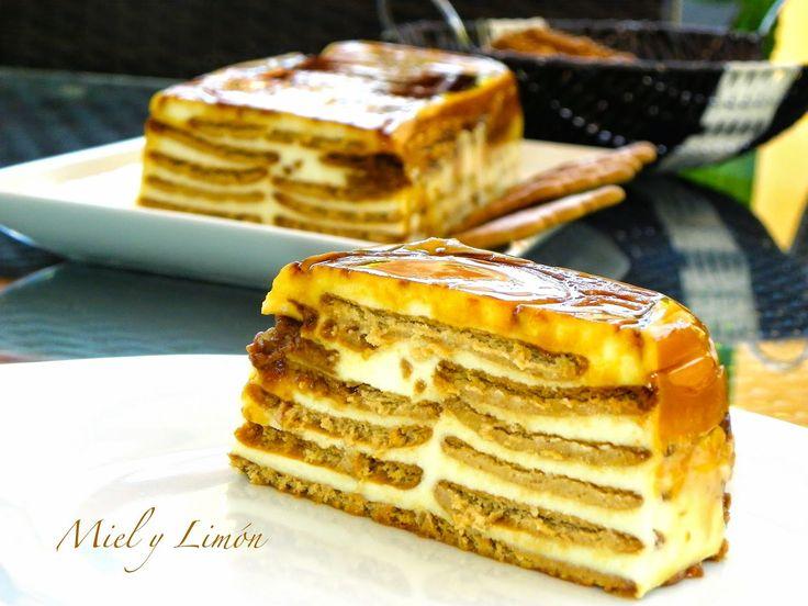 Miel y Limón : TARTA de Galletas y queso Philadelphia