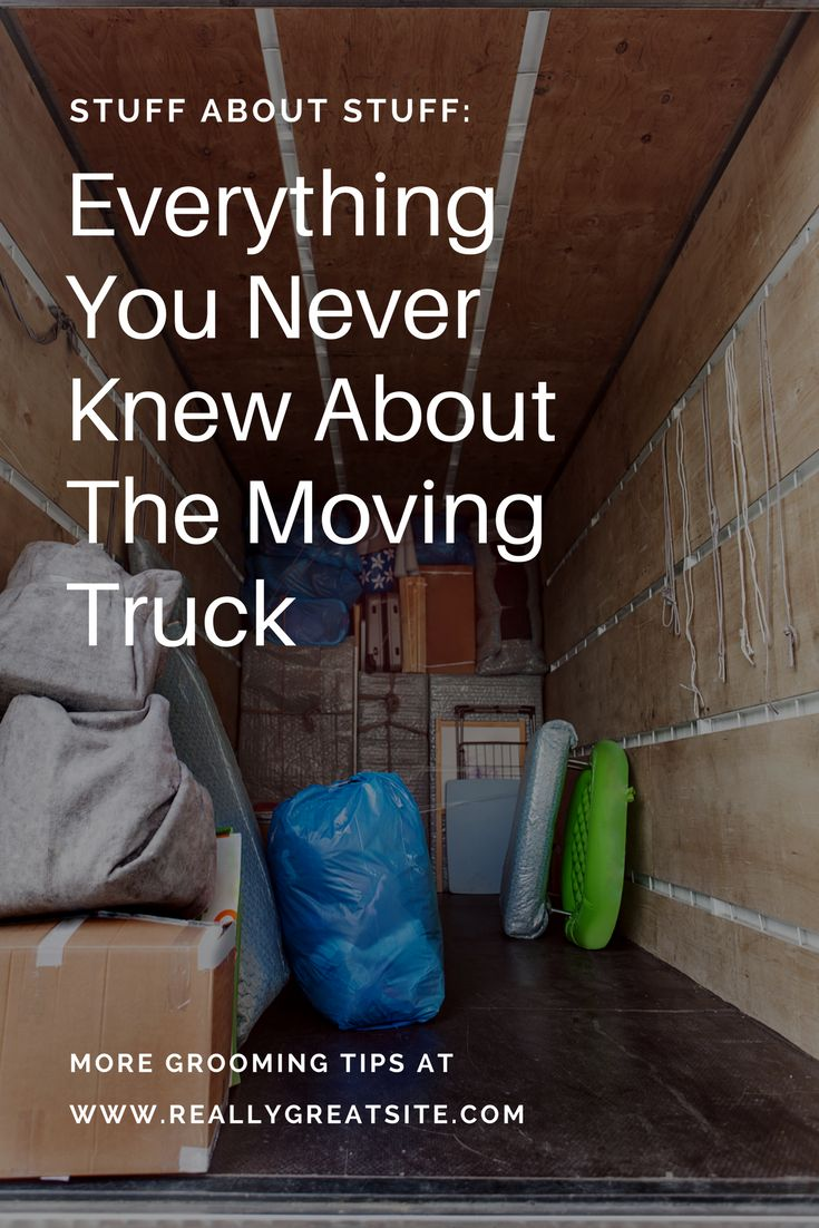 In the second installation of our series Stuff About Stuff, we're tackling these moving behemoths to find out: Where did the idea of moving trucks come from, and how have they evolved over time?