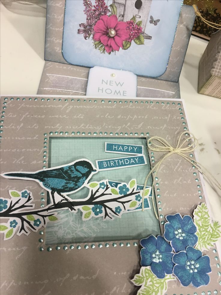 Craftwork Cards : Birds and Blooms
