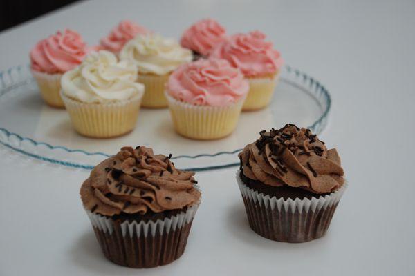 Συνταγή για cupcakes με γλάσο buttercream!
