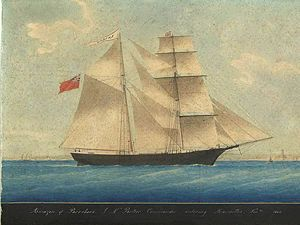 The Marie Céleste was an American brig discovered on 4 December 1872 in the Atlantic, unmanned  & abandoned, though the weather was fine & her crew were experienced seamen. She was in seaworthy condition & still under sail heading to the Strait of Gibraltar. She had been at sea for a month and had 6 months of food and water on board. Her cargo was untouched & the belongings of the crew were still in place. The crew was never seen again. She is cited as the greatest maritime mystery of all…