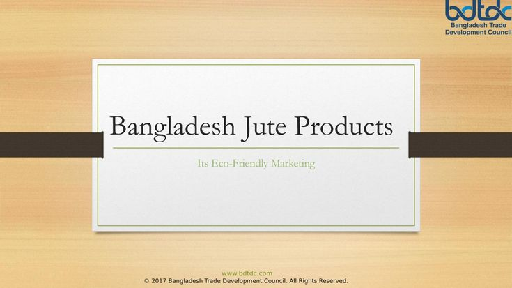 Bangladesh jute products - the most astounding quality jute as concerns