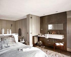 Virlova Style: [Decotips] Integrar el baño en el dormitorio