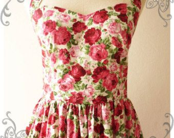 Handmade, but such a pretty vintage look about it.
