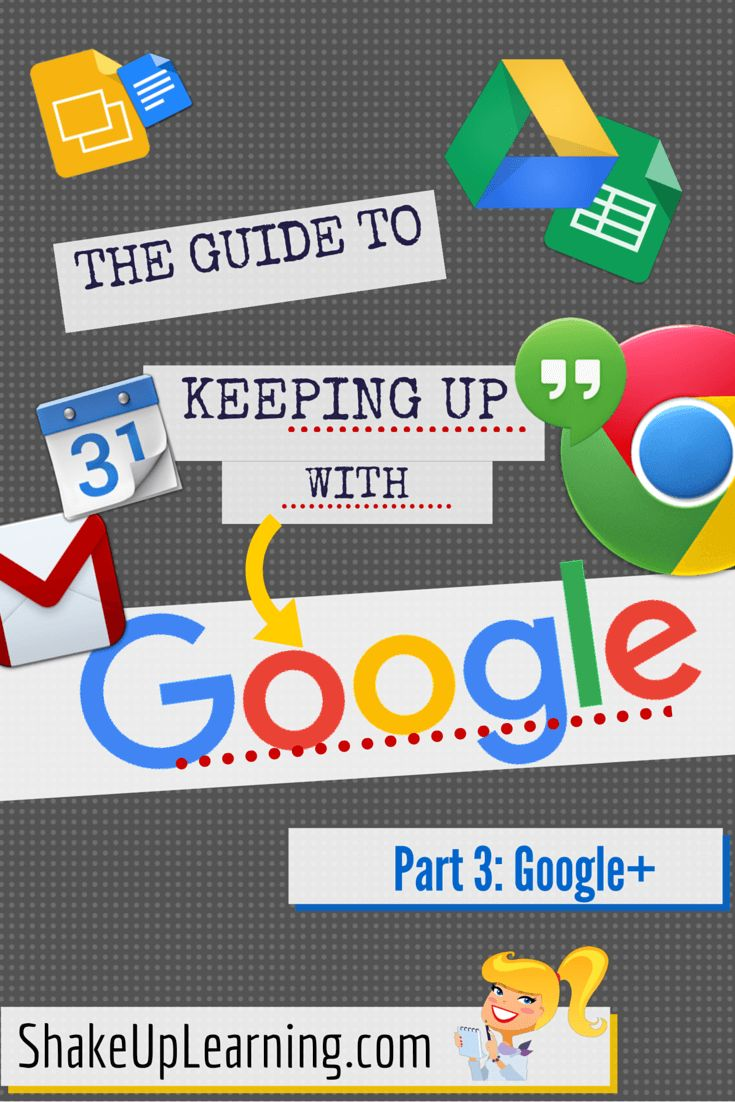 The Guide to Keeping Up With Google - Part 3: Who to Follow on Google+ Welcome to part 3 in the series: The Guide to Keeping Up with Google! In this post, I am sharing who and what to follow on Google+. If you have never ventured into the Google+ platform, now is the time to take a look. Google+ offers its own unique take on social media and a unique way to connect with other educators–especially those of the Googley variety! Google+ is not Facebook, and I think that's why I like it so much.