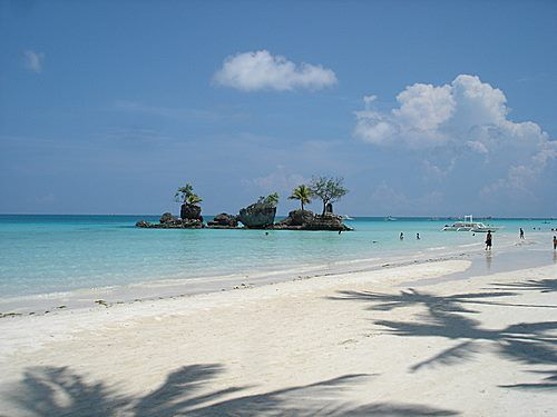 Boracay - the softest and whitest beach sand anywhere in the world!