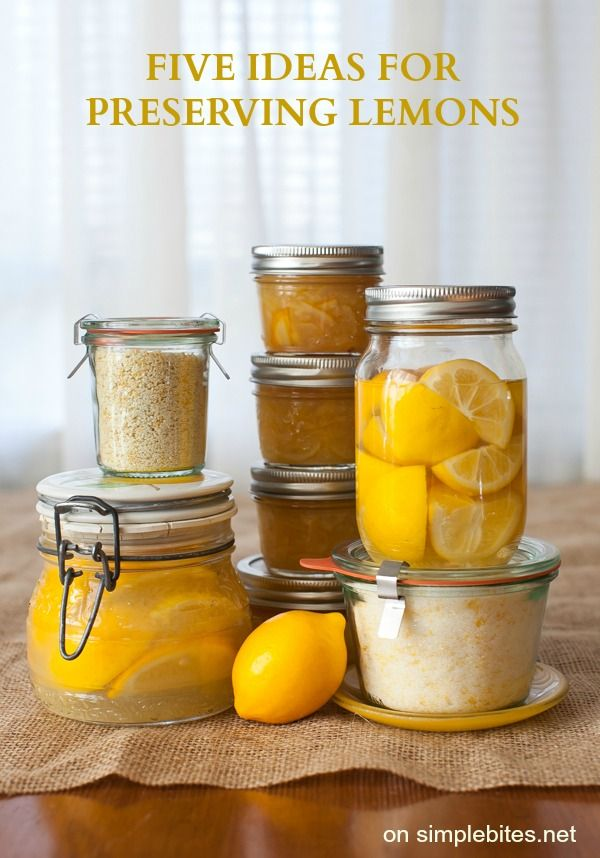 Five ideas for preserving Meyer lemons (recipe: Meyer Lemon Finishing Salt)