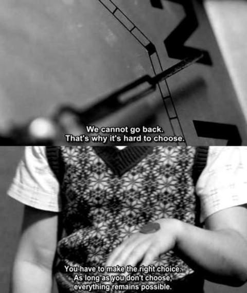 """From one of my favorite movies, """"Mr. Nobody""""."""