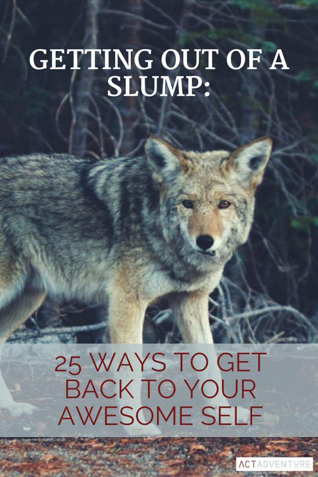 Getting Out of a Slump | Change Your Life | Personal Development