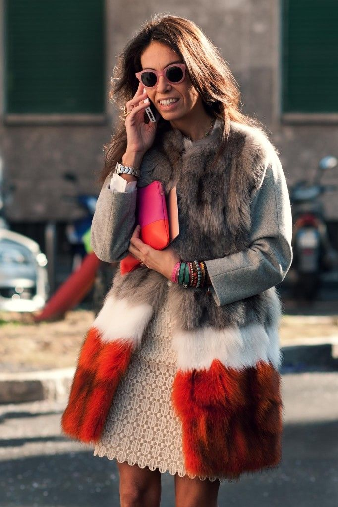 Vivs that vest rocks. Milan. #VivianaVolpicella