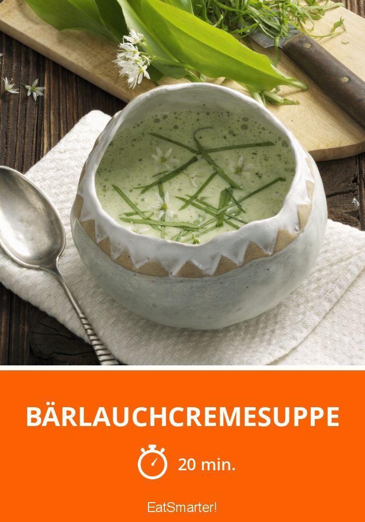 Yummy! Super leckeres und leichtes Süppchen für alle Bärlauchfans.