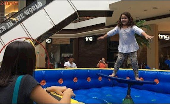 VLOG- BRINCANDO NO PARQUE DO SHOPPING CAMPO GRANDE-AS AVENTURAS DE BIG E KID