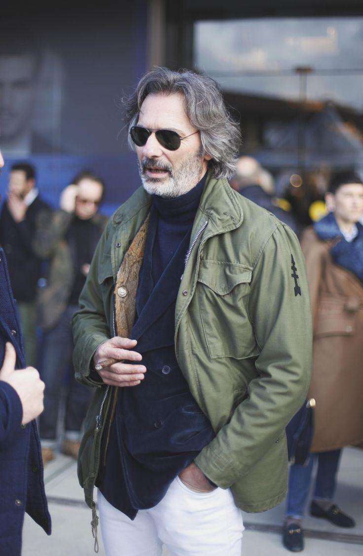 andrealorenzofotografia:    Mr. Zambaldo and his stunning field jacket MZ65