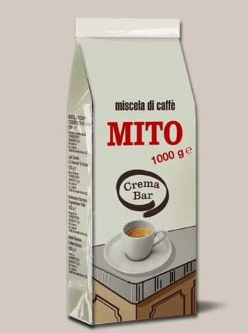 Caffè Mito Crema Bar 1000 gr - In Grani
