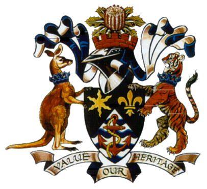 Botany Bay council coat of arms.