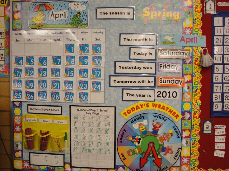 Classroom Calendar Ideas : Rd grade teacher classroom set up ideas in the upper