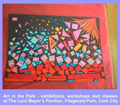 Kids workshops facilitated by Art in the Park artist resident Patricia Gurgel-Segrillo