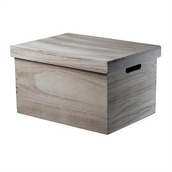Briscoes - Colmar Storage Box With Lid Wash Large