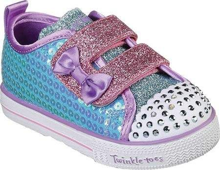 51ad1e2673201 Twinkle Toes Shuffle Lite Mini Mermaid Sneaker (Infant/Toddler Girls')  #tongue#Glitter#straps