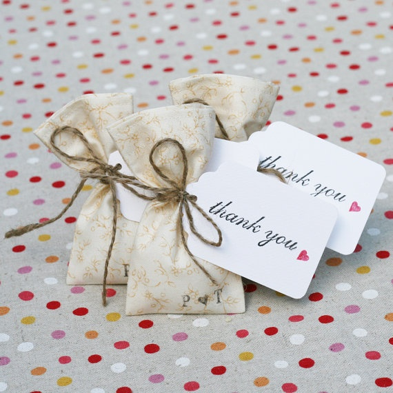Thank You Tags by AWilderness on Etsy, $25.00