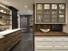 AyA Kitchens | Canadian Kitchen and Bath Cabinetry Manufacturer | Kitchen Design Professionals - Arlington Barley Cherry in Transitional Transitional
