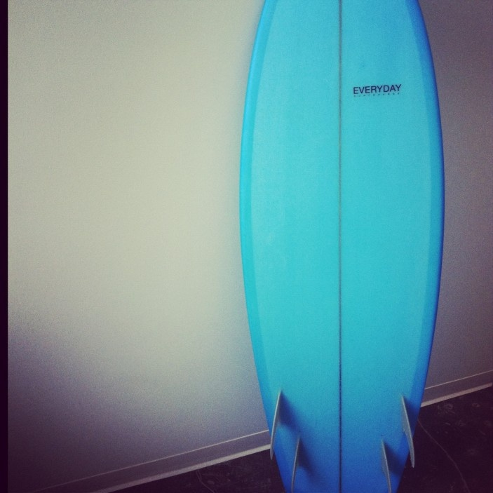 Everyday Surfboard shaped by Kelly Connolly