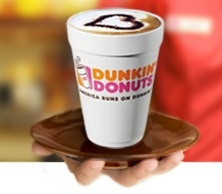 Free medium beverage (Free medium beverage of choice includes any iced or hot coffee, tea or latte, hot chocolate or Coolatta®) from Dunkin Donuts when you enroll in Dunkin Perks AND they will give you ANOTHER one on your birthday.  Wish I had one near me!  US only
