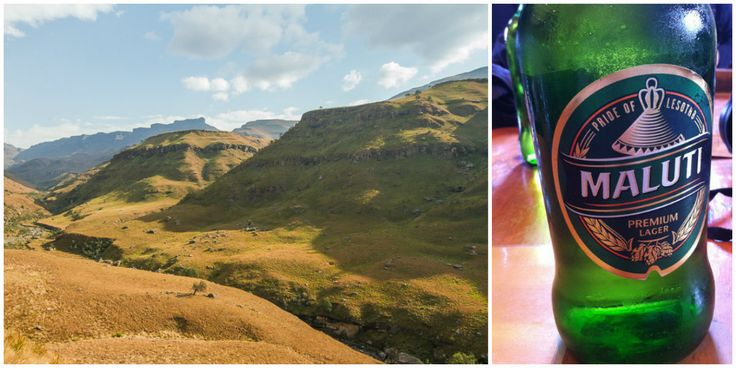 In search of breathtaking scenes, Lesotho beer and a snof flurry...exploring the #SaniPass: