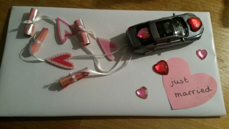 Geld cadeau huwelijk