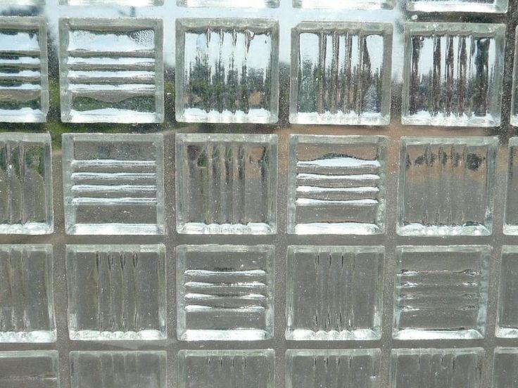 Mosaïque pâte de verre transparente cristal- Mosaïque de pâte de verre translucide 2 cm