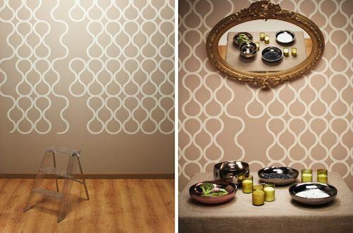 146 best walls interior design images on pinterest - Tear off wallpaper by znak ...