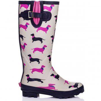 SPYLOVEBUY | IGLOO Multi Festival Wellies Rain Boots at Spylovebuy.com