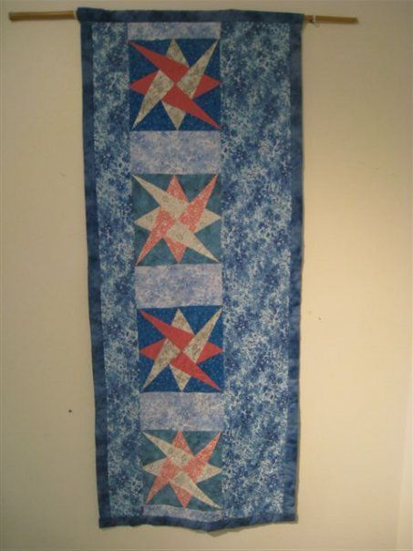 """Wall hanging quilt """" Challenge"""""""