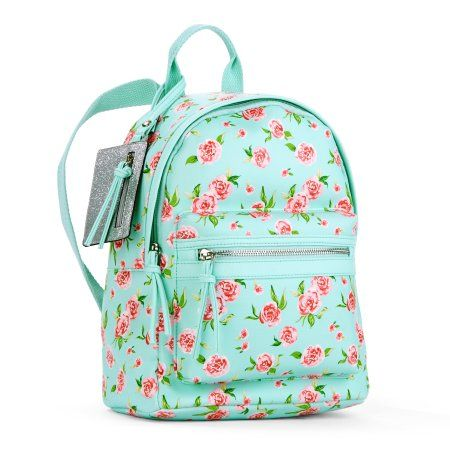 Mint Floral Mini Dome Backpack, Green | Products in 2019