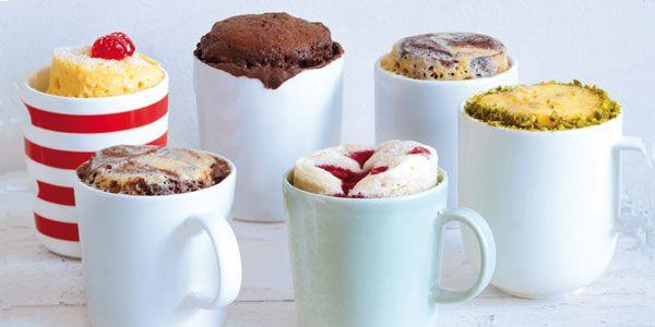 Mug Cake : recette au chocolat blanc