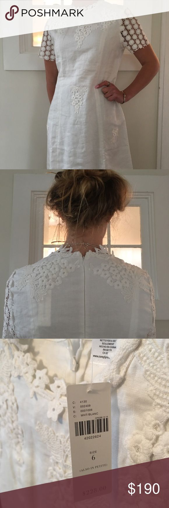 BRAND NEW WHITE ANTHROPOLOGY DRESS Originally priced at $228 Anthropologie Dresses Midi