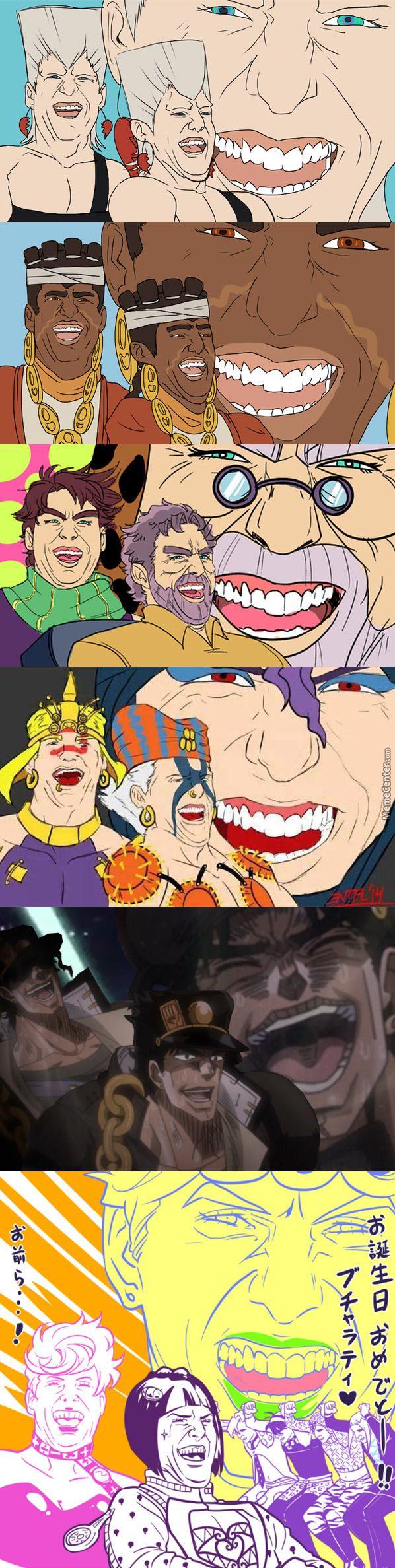 Tom Cruise Laughing X Jojo'S Bizarre Adventure
