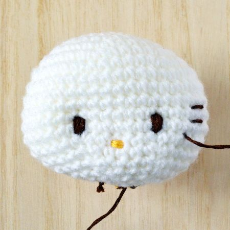 Exclusive Hello Kitty Crochet Tip#2: It s in the eyes ...