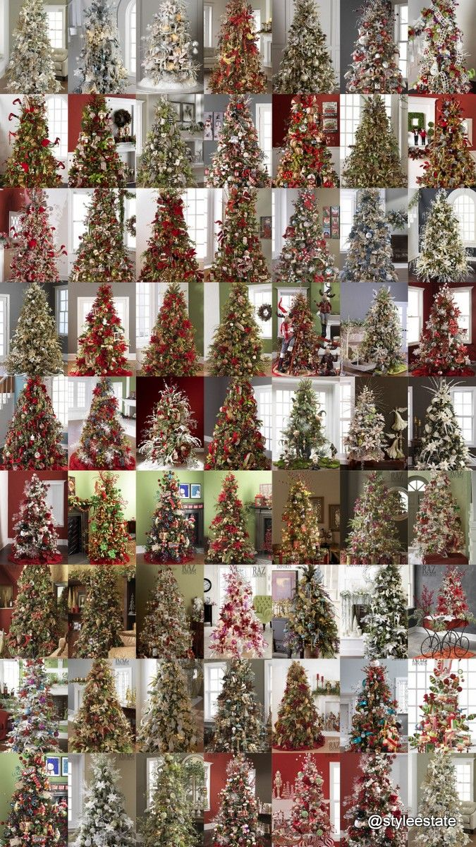 Pictures Of Decorated Christmas Trees 5314 best christmas tree images on pinterest | christmas time