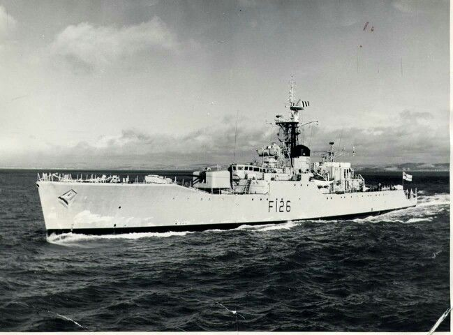 HMS Plymouth (F126) Royal Navy Rothesay-class frigate.