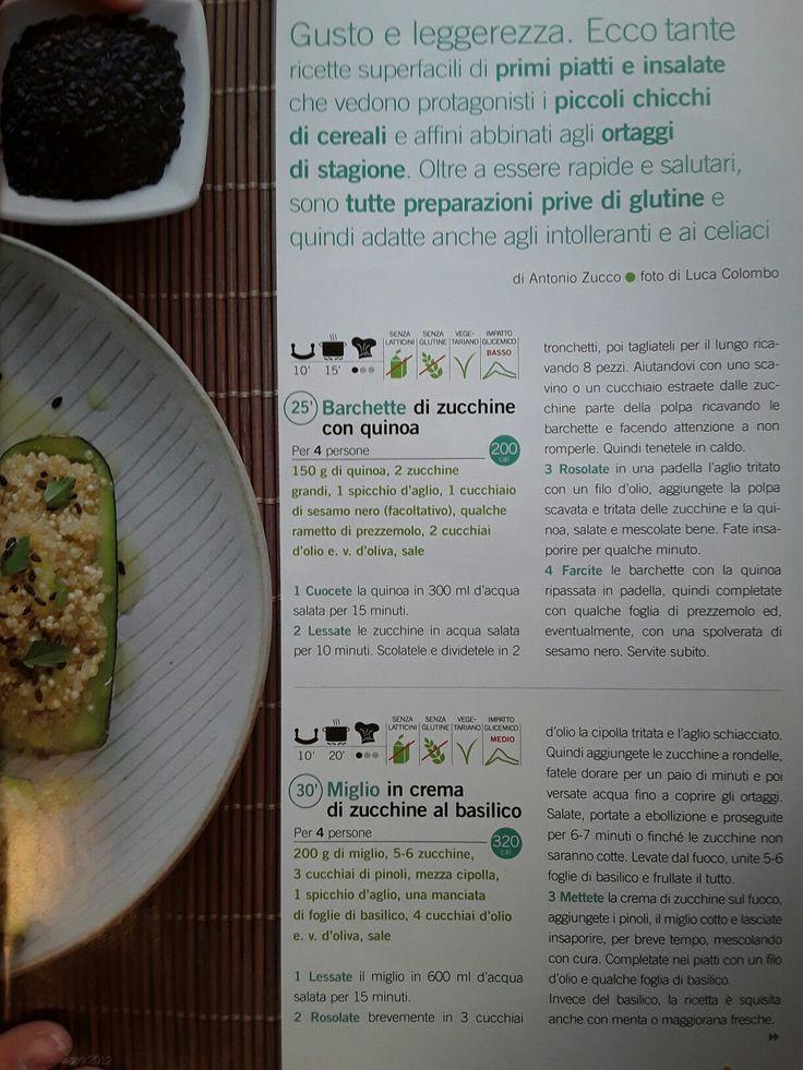 Barchette zucchine e quinoa