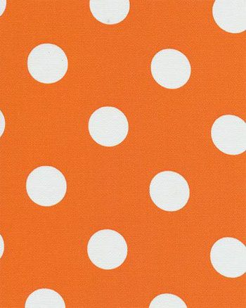 Polka Dot Orange   Indoor/Outdoor | Online Discount Drapery Fabrics And  Upholstery Fabric Superstore