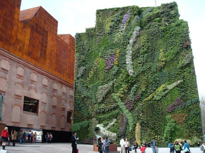13 best pisos interceramic images on pinterest floors floors of stone and natural stones - Jardin vertical caixaforum ...