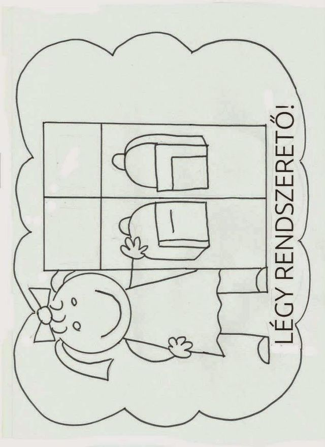 Iskolai szabályok (Marci fejlesztő és kreatív oldala)