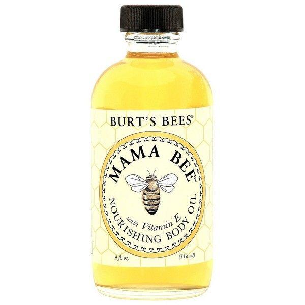 Burt's Bees Mama Bee Body Oil - 4 oz found on Polyvore