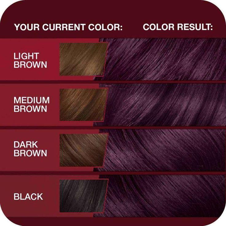 AmazonSmile : Vidal Sassoon Pro Series Hair Color 3vr Deep Velvet Violet 1 Kit : Chemical Hair Dyes : Beauty