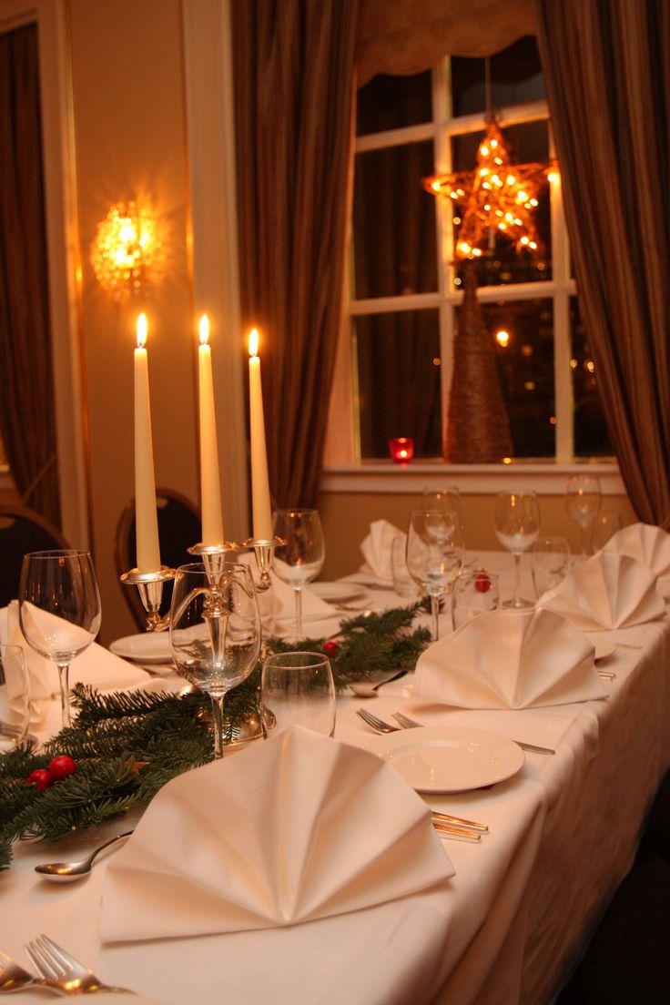 Christmas dinner in Refsnes Gods